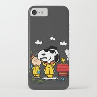 peanuts iPhone & iPod Cases featuring Breaking Peanuts by Maioriz Home
