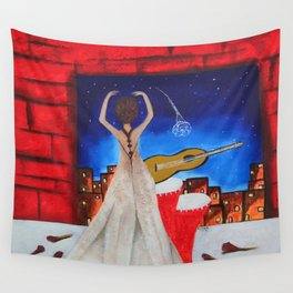 Love To Dance 002 By Saribelle Rodriguez Wall Tapestry