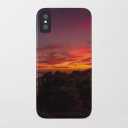 Glomar Beach at sunset iPhone Case