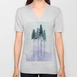 Siberian Forest 2 Unisex V-Neck
