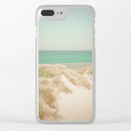 Beach dune miniature 4 Clear iPhone Case