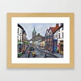 Abergavenny Framed Art Print