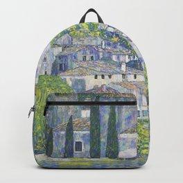 Gustav Klimt Church in Cassone Backpack