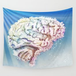 Mind in the Clouds Wall Tapestry