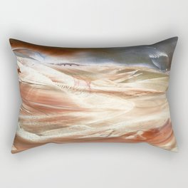 You can land anytime, the truth will set us free Rectangular Pillow