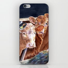 Calves at Brunch iPhone Skin