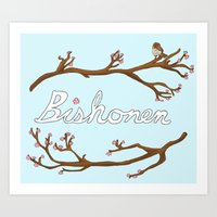 Bishounen Art Print