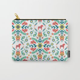 Swedish Folklore Carry-All Pouch
