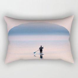 Heading to Blue Island Rectangular Pillow