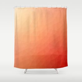 Red flakes Shower Curtain
