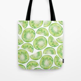 Watercolour Kiwi Fruit Tote Bag