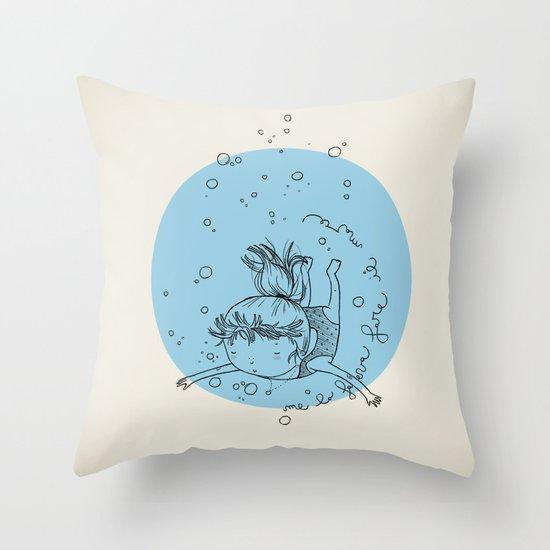 Sea. Throw Pillow