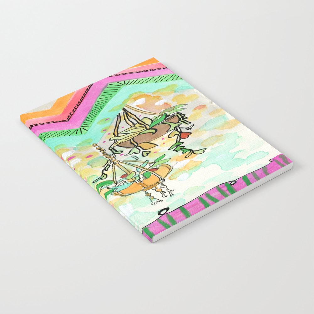 Hanging Plants With Robert Plant Notebook by Microstudio NBK7980799