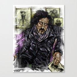 Mr. Burton Canvas Print