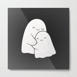 Ghost Hug - Soulmates Metal Print