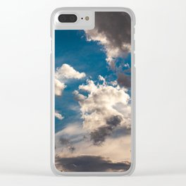 Stormy Weather Is Coming Clear iPhone Case