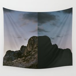 Minutes Apart Wall Tapestry