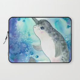 Baby narwhal Laptop Sleeve