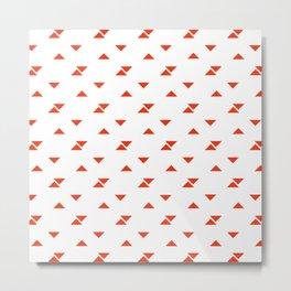 JADE ((cherry red)) Metal Print