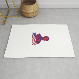 4th Of July Liberty America USA Independence Day America Libertarian Gift Rug
