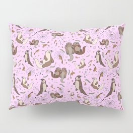 Cute Otters :) Pillow Sham