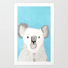 Russell The Koala Art Print
