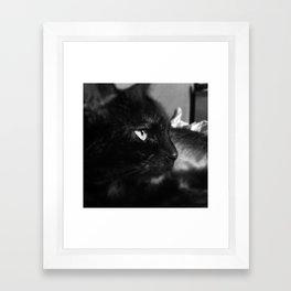 Side Profile Framed Art Print