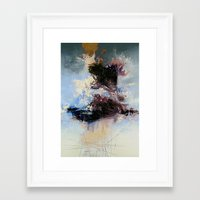 psychology Framed Art Prints featuring CATHARTIC by THE USUAL DESIGNERS