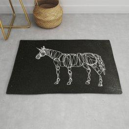 Electric Unicorn Rug
