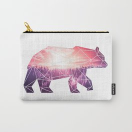 Bear in polygone Carry-All Pouch