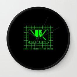 Biometric identification system Wall Clock