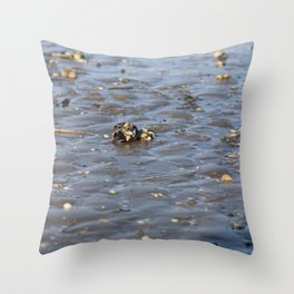 Shells in the sand 2 Throw Pillow