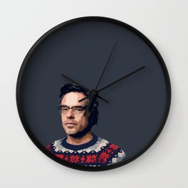 Jemaine Clement Wall Clock