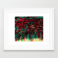 birthday Framed Art Prints featuring Birthday  by DizzyNicky