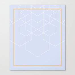 BLUEPASTEL Canvas Print