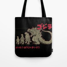 Evolution of The King of Monsters Tote Bag