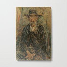 Aoyama Kumaji - Portrait of a Man (1921) Metal Print
