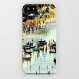 Rowing Regatta iPhone Case