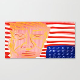 Distressed Canvas Print
