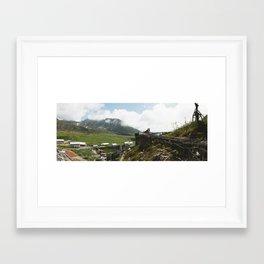 Independence Mine , Near Hatcher Pass AK (Color) Framed Art Print