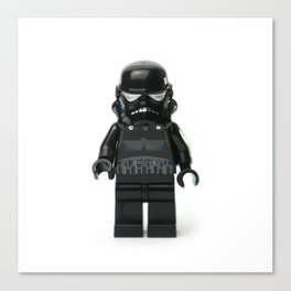 Darth Vader Minifig Canvas Print