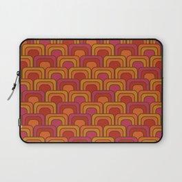 Geometric Retro Pattern Laptop Sleeve