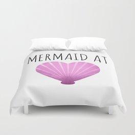 Mermaid At Heart Duvet Cover
