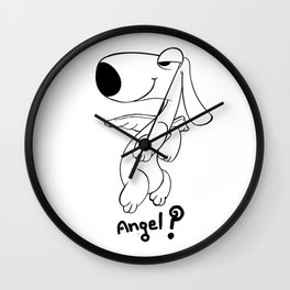 angel..? Wall Clock