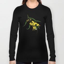 The Golden Wattle Long Sleeve T-shirt