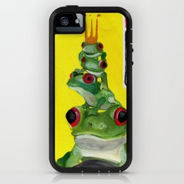 F for Frog - Alphabet City  iPhone Case