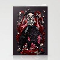 kieren walker Stationery Cards featuring Walker by SPYKEEE
