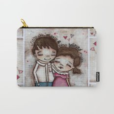 She Believed Him - by Diane Duda Carry-All Pouch