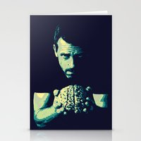 house md Stationery Cards featuring HOUSE MD by Bianca Lopomo