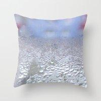 window Throw Pillows featuring window by Eva Lesko